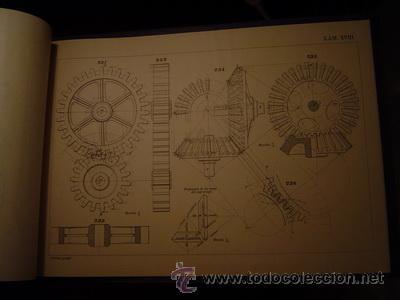 Libros antiguos: ATLAS DE LA CARTILLA DE DIBUJO GEOMETRICO INDUSTRIAL DE PEÑAS - Foto 2 - 171519564