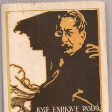 Libros antiguos: MOTIVOS DE PROTEO / J.E. RODO. BCN : CERVANTES, 1936.22X15CM. 458 P. SIN DESBARBAR. Lote 27276019