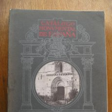 Libros antiguos: CATALOGO MONUMENTAL DE ESPAÑA - PROVINCIA DE ALAVA - EDICION OFICIAL - 1915. Lote 26551981