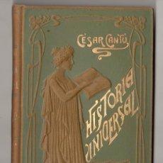Libros antiguos: HISTORIA UNIVERSAL POR CESAR CANTU. TOMO 5. EDITORES GASSO HERMANOS. BARCELONA. Lote 15142823