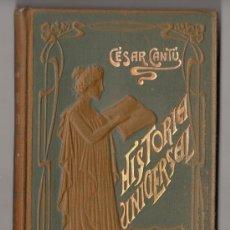 Libros antiguos: HISTORIA UNIVERSAL POR CESAR CANTU. TOMO 11. EDITORES GASSO HERMANOS. BARCELONA. Lote 15143008