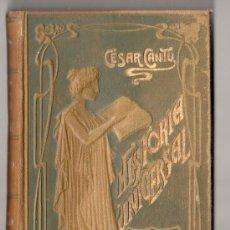 Libros antiguos: HISTORIA UNIVERSAL POR CESAR CANTU. TOMO 29. EDITORES GASSO HERMANOS. BARCELONA 1911. Lote 15143570