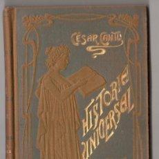Libros antiguos: HISTORIA UNIVERSAL POR CESAR CANTU. TOMO 32. EDITORES GASSO HERMANOS. BARCELONA 1911. Lote 15143650
