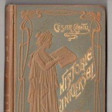 Libros antiguos: HISTORIA UNIVERSAL POR CESAR CANTU. TOMO 35. EDITORES GASSO HERMANOS. BARCELONA 1911. Lote 15143691