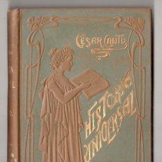 Libri antichi: HISTORIA UNIVERSAL POR CESAR CANTU. TOMO 37. EDITORES GASSO HERMANOS. BARCELONA 1911. Lote 15143724