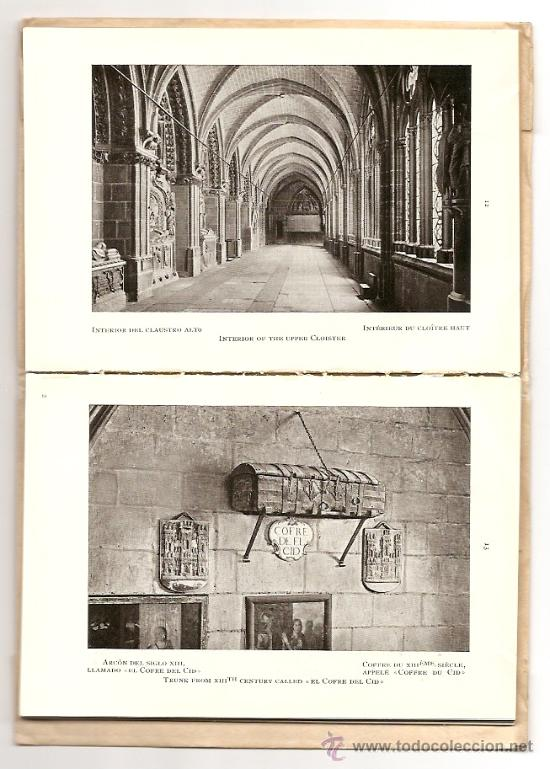 Libros antiguos: EL ARTE EN ESPAÑA Nº 1 - CATEDRAL DE BURGOS - EDICION THOMAS - PRIMEROS AÑOS SIGLO XX - Foto 2 - 15248110