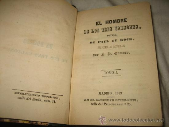 Libros antiguos: NOVELAS DE KOCK 1843 - Foto 3 - 27533057