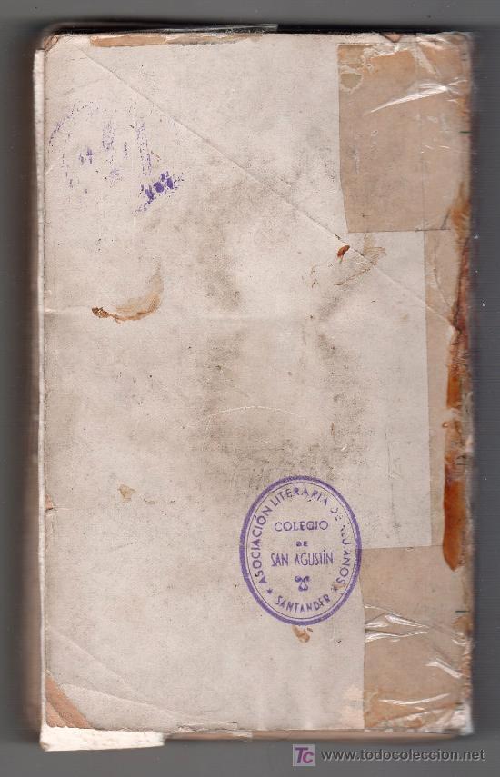 Libros antiguos: PARTE POSTERIOR - Foto 2 - 15366440