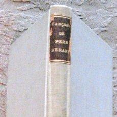 Libros antiguos: MIQUEL S. OLIVER. POESIES. TIP. LÁVENÇ. BARCELONA.1910. 1ª EDICIÓN.. Lote 20029316