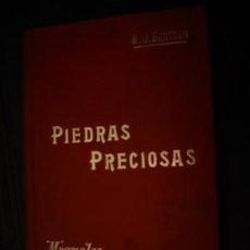 Libros antiguos: 1900 PIEDRAS PRECIOSAS. Lote 26388314