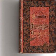 Libros antiguos: NOVELAS ESCOGIDAS - MATEO BANDELLO -. Lote 26254989