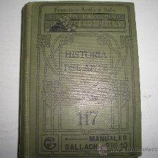 Libros antiguos: HISTORIA DEL ARTE -GALLACH CAJA Nº -1. Lote 15761893