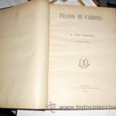 Libros antiguos: 1908 ENSAYOS DE CARBONES. Lote 26237962