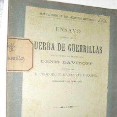 Libros antiguos: 1914 ENSAYO ACERCA DE LA GUERRA DE GUERRILLAS NO EN BNAL. Lote 27536746