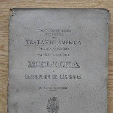Alte Bücher - Milicia y descripción de las Indias escrita por el Capitán D... Volumen II. Vargas Machuca (Bernardo - 15863835