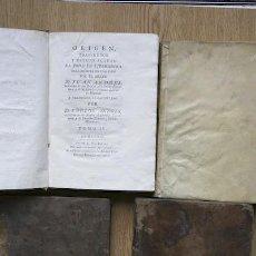 Libros antiguos: ORIGEN, PROGRESOS Y ESTADO ACTUAL DE TODA LA LITERATURA. TOMOS III, V Y VI. ANDRÉS (JUAN). Lote 22270266