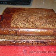 Libros antiguos: 1869 SOLUCION DE GRANDES PROBLEMAS PUESTA AL ALCANCE DE TODAS LAS INTELIGENCIAS DOS TOMOS. Lote 27473382