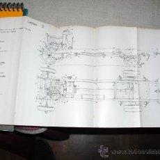 Libros antiguos: 1929 DESCRIPCION DEL MATERIAL MILITAR PARA MANIOBRAS DE FUERZA Y TRANSPORTE. Lote 163338178