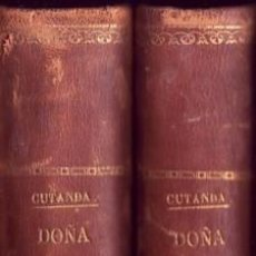 Libros antiguos: DOÑA FRANCISCA, EL PORTENTO DE LA CARIDAD. FRANCISCO CUTANDA. ¡BIBLIÓFILOS!. Lote 26766208