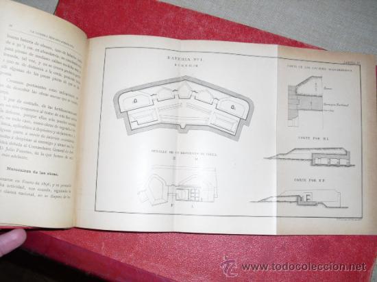 Libros antiguos: 1900 LA GUERRA HISPANO-AMERICANA LA HABANA INFLUENCIA DE LAS PLAZAS DE GUERRA - Foto 4 - 22988978