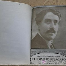 Livres anciens: EL DIVINO FRACASO. CANSINOS ASSENS (R.). Lote 15974765