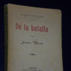 Libros antiguos: DE LA BATALLA.(ARTÍCULOS Y CUENTOS). Lote 24161888