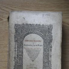 Libros antiguos: LIBRO DE LA MONTERÍA DEL REY D... ALFONSO XI. Lote 16004131