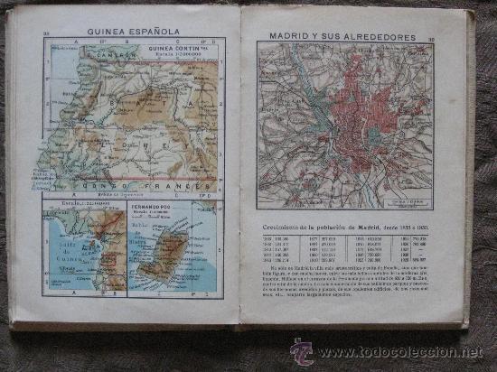 Libros antiguos: ATLAS GEOGRÁFICO Y ESTADÍSTICO DE ESPAÑA Y PORTUGAL-NUESTRAS POSESIONES EN ÁFRICA-1936 - Foto 2 - 26724315