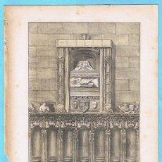 Libros antiguos: LÁMINA PERTENECIENTE A LA HISTORIA GENERAL DEL REINO DE MALLORCA. JUAN GUASCH Y PASCUAL. PALMA, 1840. Lote 16180596