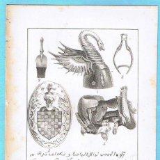 Libros antiguos: LÁMINA PERTENECIENTE A LA HISTORIA GENERAL DEL REINO DE MALLORCA. JUAN GUASCH Y PASCUAL. PALMA, 1840. Lote 16180945