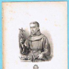Libros antiguos: LÁMINA PERTENECIENTE A LA HISTORIA GENERAL DEL REINO DE MALLORCA. JUAN GUASCH Y PASCUAL. PALMA, 1840. Lote 16181354