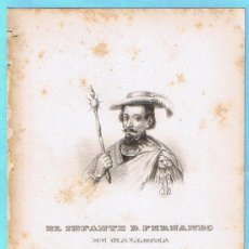 Libros antiguos: LÁMINA PERTENECIENTE A LA HISTORIA GENERAL DEL REINO DE MALLORCA. JUAN GUASCH Y PASCUAL. PALMA, 1840. Lote 16181385