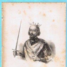 Libros antiguos: LÁMINA PERTENECIENTE A LA HISTORIA GENERAL DEL REINO DE MALLORCA. JUAN GUASCH Y PASCUAL. PALMA, 1840. Lote 16181459