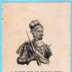 Libros antiguos: LÁMINA PERTENECIENTE A LA HISTORIA GENERAL DEL REINO DE MALLORCA. JUAN GUASCH Y PASCUAL. PALMA, 1840. Lote 16181555