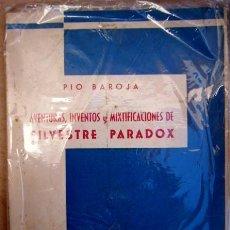 Libros antiguos: AVENTURAS, INVENTOS Y MIXTIFICACIONES DE SILVESTRE PARADOX. PIO BAROJA. ED. ESTAMPA, 1930.. Lote 16324686
