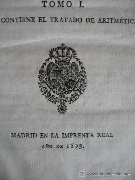 Libros antiguos: CURSO DE ESTUDIOS ELEMENTALES DE MARINA - GRABRIEL CISCAR - TOMO I Y TOMO II - 1803 - Foto 3 - 16331152