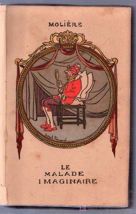 Libros antiguos: LE MALADE IMAGINAIRE PAR MOLIERE. ÉDITION LIMITÉE Nº 511. EDITIONS RENE KIEFFER. PARIS 1921 - Foto 4 - 26002021