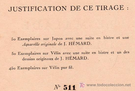 Libros antiguos: LE MALADE IMAGINAIRE PAR MOLIERE. ÉDITION LIMITÉE Nº 511. EDITIONS RENE KIEFFER. PARIS 1921 - Foto 8 - 26002021