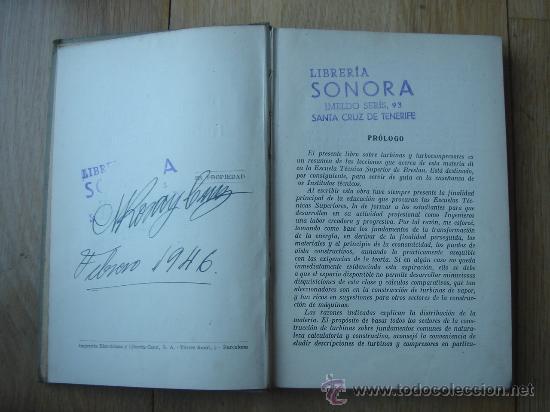 Libros antiguos: TURBINAS DE VAPOR Y TURBOCOMPRESORES. MANUALES TÉCNICOS LABOR. DR. ING. H. BAER. 130 FIGURAS. 1926. - Foto 2 - 25907510