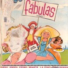 Libros antiguos: LIBRO - FABULAS TOMO 1. Lote 25842697