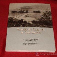 Libros antiguos: ESTUDIO DA ENSEADA DE SAN SIMÓN. Lote 26536578