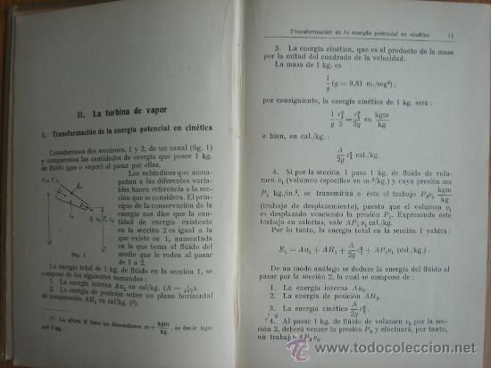 Libros antiguos: TURBINAS DE VAPOR Y TURBOCOMPRESORES. MANUALES TÉCNICOS LABOR. DR. ING. H. BAER. 130 FIGURAS. 1926. - Foto 4 - 25907510