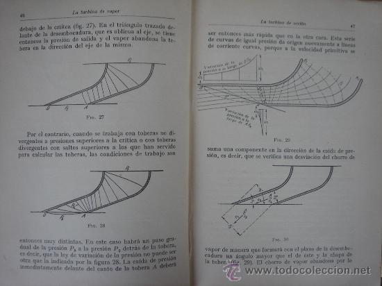 Libros antiguos: TURBINAS DE VAPOR Y TURBOCOMPRESORES. MANUALES TÉCNICOS LABOR. DR. ING. H. BAER. 130 FIGURAS. 1926. - Foto 5 - 25907510