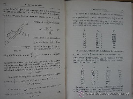 Libros antiguos: TURBINAS DE VAPOR Y TURBOCOMPRESORES. MANUALES TÉCNICOS LABOR. DR. ING. H. BAER. 130 FIGURAS. 1926. - Foto 6 - 25907510