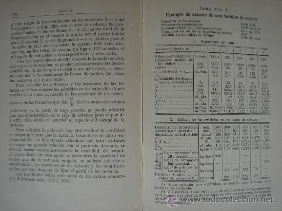 Libros antiguos: TURBINAS DE VAPOR Y TURBOCOMPRESORES. MANUALES TÉCNICOS LABOR. DR. ING. H. BAER. 130 FIGURAS. 1926. - Foto 8 - 25907510