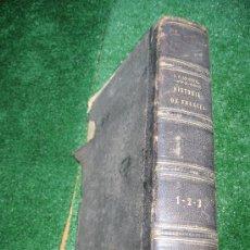 Libros antiguos: 1851. HISTORIA DE FRANCIA. ANQUETIL. GRABADOS. 3 TOMOS COMPLETA. Lote 26630212