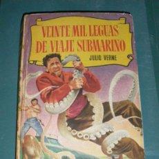 Libros antiguos: VEINTE MIL LEGUAS DE VIAJE SUBMARINO - ED. BRUGUERA - 250 ILUSTRACIONES.. Lote 21431876