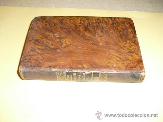 1851 REFLEXIONES SOBRE LA NATURALEZA M. STURM TOMO II CORRESPONDIENTE A MARZO Y ABRIL (Libros Antiguos, Raros y Curiosos - Ciencias, Manuales y Oficios - Otros)