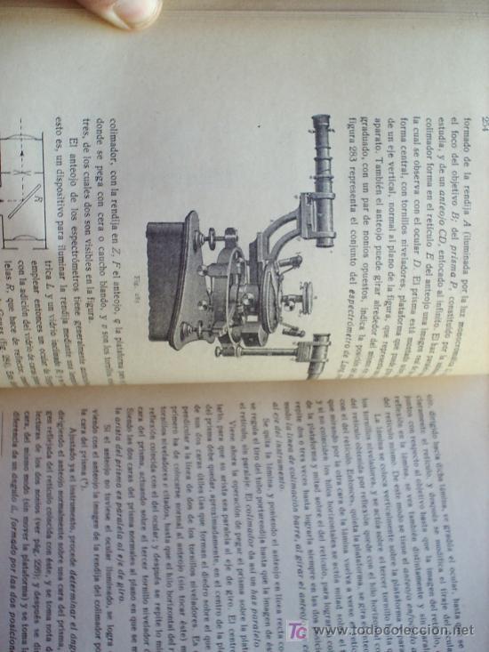 Libros antiguos: OPTICA APLICADA 1935 JOSE MAÑAS Y BONVI , EDITORIAL ALTES-CINEMATOGRAFIA , FOTOTIPIA ETC - Foto 8 - 25732718