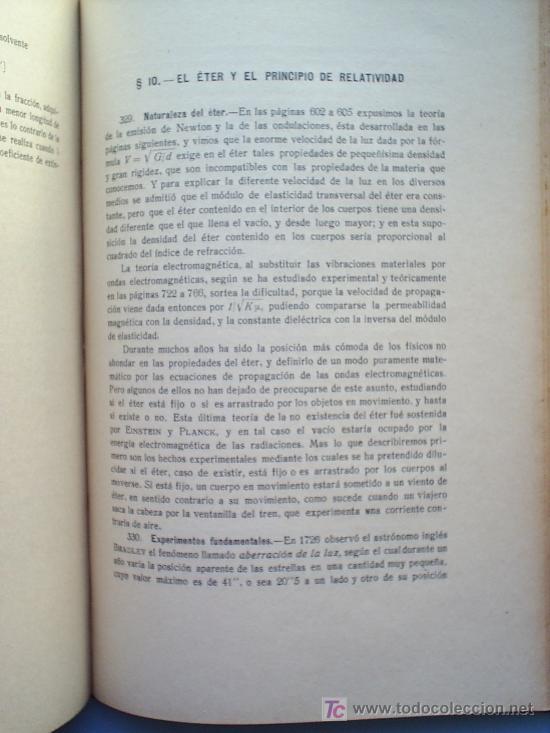 Libros antiguos: OPTICA APLICADA 1935 JOSE MAÑAS Y BONVI , EDITORIAL ALTES-CINEMATOGRAFIA , FOTOTIPIA ETC - Foto 13 - 25732718